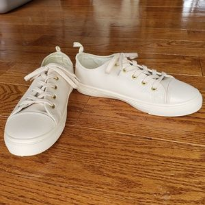 Shoes - Womens White Sneakers